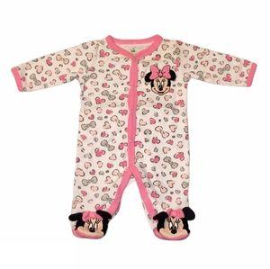 Baby girl minnie mouse pajamas